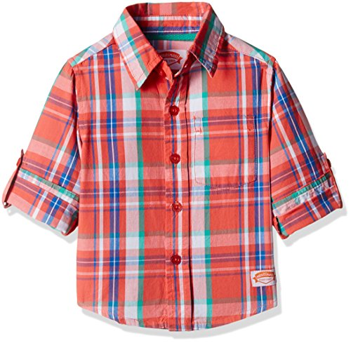 Nauti Nati Baby Boys' Shirt (NAW16-802A-1Y-Orange)