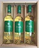 Caja de madera 3 botellas - Marques de Caceres - Vino Blanco Joven