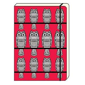 The Art File - A5 Notebook. Owl Design