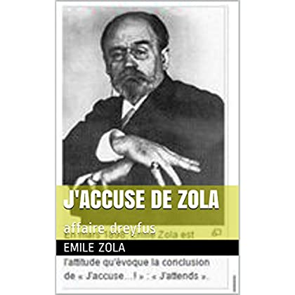 j'accuse de Zola: affaire dreyfus