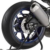 Adhesivos para Llantas Moto Yamaha MT-09 Tracer simil carbono