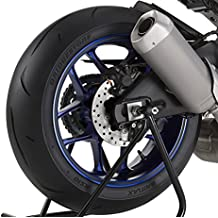 Adhesivos para Llantas Moto Hyosung GT 250/i Naked simil carbono