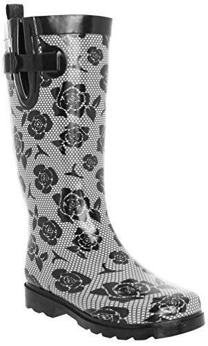Capelli New York Ladies Tall Cozy Lining Rain Boots