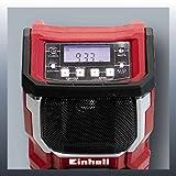 Einhell Akku Radio TE-CR 18 Li Solo Power X-Change (Lithium Ionen, 18 V, AUX inklusive Anschlusskabel für Handy, MP3-Player, ohne Akku und Ladegerät) - 3
