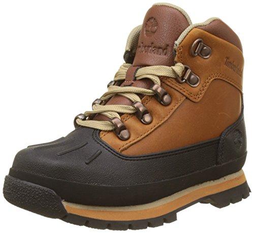 Timberland Kids Euro Hiker Shell Toe Chukka Boots, Braun (Claypot), 35 EU