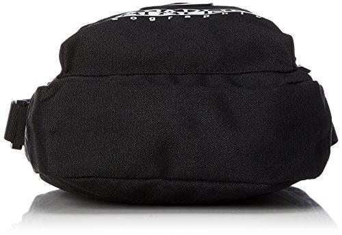 Napapijri Unisex-Erwachsene Happy Cross Pocket Umhängetasche, 6 x 22 x 18 cm Black