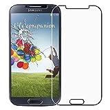 Film de protection Ecran Cophone® pour Samsung Galaxy S4 I9505 en Verre Trempé Premium Anti Chocs et Casse, Anti empreintes digitales et gras, bords arrondis,dureté max 9H, haute définition Glass Screen Protector Vitre Tempered 2,5d