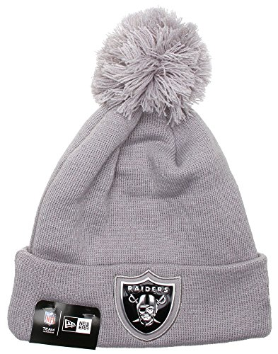 Oakland raiders beanie(grey) the best Amazon price in SaveMoney.es 62cf3f617bfe