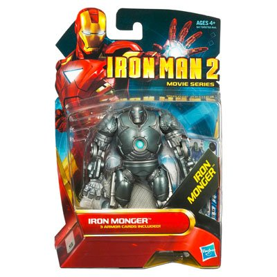 Iron Monger - hasbro - Figurine Iron Man 2 Movie