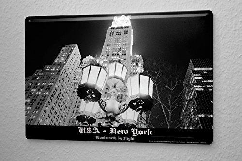 cartel-de-chapa-placa-metal-tin-sign-de-dave-butcher-negro-fotografico-estados-unidos-nueva-york-woo