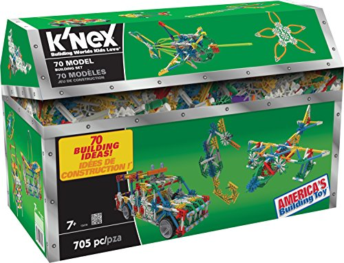 K'NEX 13419 - Building Set - 70 Model - 705 Pieces -...