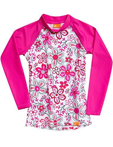 iQ-UV Mädchen Strand und Meer Langarm Schwimmen Shirt, pink, 116