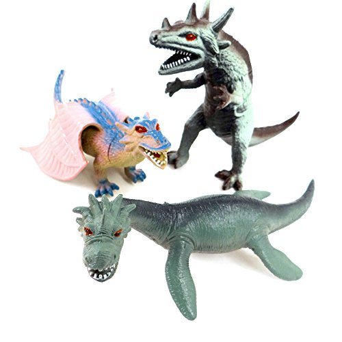 WDK PARTNER - A1300472 - Figurines - 3 Dragons