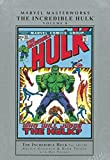 Marvel Masterworks: The Incredible Hulk Volume 8