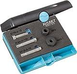 Hazet Keil (rippen) Riemenscheibe Werkzeug-Satz, Außen-Vielzahn Profil, Anzahl Werkzeuge: 5, 1 Stück, 4641-2/5
