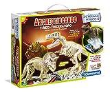 Clementoni 13984 - Archeogiocando T-Rex & Triceratopo