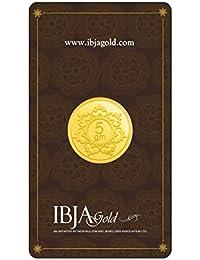 IBJA Gold 5 Gm, 24K (999) Yellow Gold Precious Coin