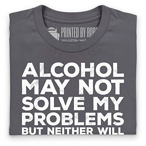 Problem Solver T-Shirt, Herren Anthrazit
