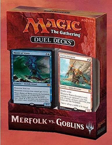 Magic the Gathering Duel Decks Merfolk vs. Goblins - English (Goblins Spiel)