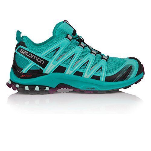 Salomon XA PRO 3D W, Scarpe da Trail Running Donna, Blu (Blue Curacao/Bluebird/Dark Purple 000), 37 1/3 EU