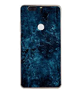 Fuson Designer Phone Back Case Cover Huawei Honor V8 ( Deep And Captivating Blues )