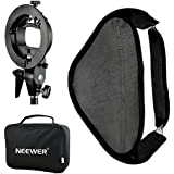 "Neewer 32x32"" Softbox Photo Studio Multifonctionnel avec S-type Support de Montage de Flash Speedlite et Etui de Transport pour Photographie de Portrait ou Produit"