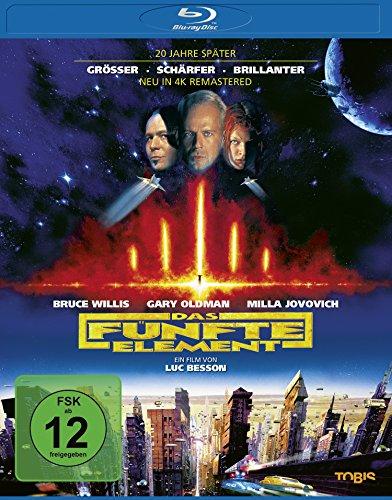 Das fünfte Element [Blu-ray] (Dvd-film Die Neusten)