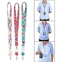 KOBWA - Llavero de Seguridad para Enfermeras y Profesores, 3 Unidades, 2 en 1