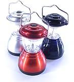 6 LED mini camping lantern - Black