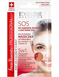 EVELINE Cosmetics Face Therapy Set of 3 SOS Collagen Lifting Masks 3 x 7ml Mature and Dry Skin