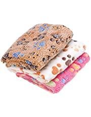 Pets Empire Pet Dog Cat Bed Puppy Cushion Soft Warm Kennel Mat Blanket Cushion (Design and Color May Vary) 1 Piece (Medium (90cm x 60cm))