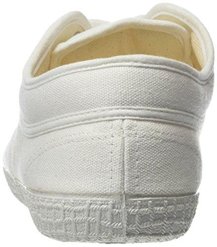 Kawasaki - Rainbow Step Basic White, Scarpe da ginnastica Unisex – Adulto Bianco (Bianco (White))