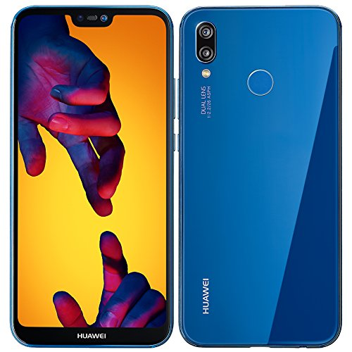 Huawei 774793 P20 Lite Smartphone, 64GB dunkel blau