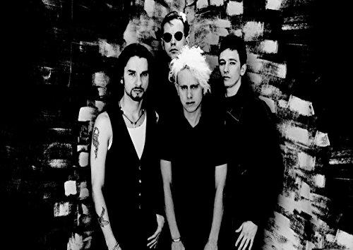 Depeche Mode 3David Gahan Martin Gore Andrew Fletcher toller Rock-Metal Album Cover Design Musik Band beste Foto Bild Einzigartige Print A3Poster