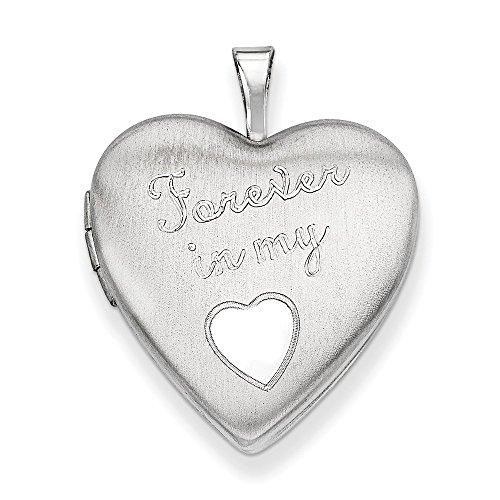 Für Immer In Medaillon Herz Meinem (Sterling Für immer Silber Medaillon Herz 20mm Meine in)