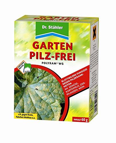 Dr. Stähler 030923 Garten Pilz-Frei, Fungizid gegen Pilzkrankheiten an Gartenpflanzen, 6 Portionsbeutel -