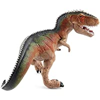 SUPER TOY Action Figures Dragon Jurassic Park Tyrannosaurus Dinosaur Toys Plastic Animal Toy 24cm