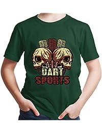 Dart T-Shirt 180 Pfeil Dartclub Scheibe Trikot Spass Geschenk Party Sport