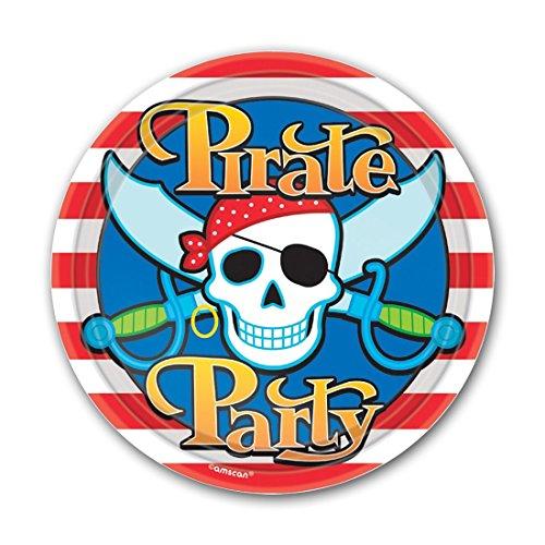Amscan / Pappteller Piraten