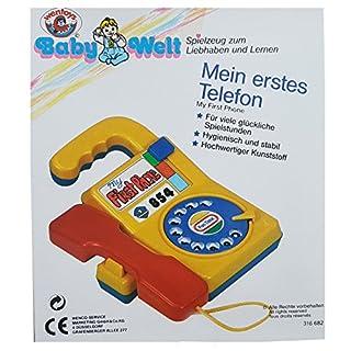 Kinderspiezeug Babywelt Mein erstes Telefon