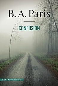 Confusión par B. A. Paris