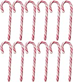 Candy Canes Zuckerstangen 36 Stück, rot-weiß