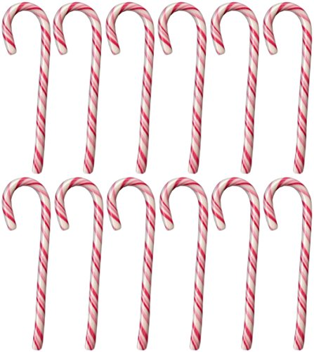 angen, 28gr (24 Stück, rot-weiß) EXTRA GROSS (Große Zuckerstangen)