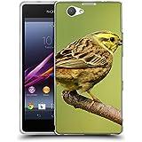 Super Galaxy Coque de Protection TPU Silicone Case pour // F00004608 pájaro amarillo // Sony Xperia Z1 Compact D5503
