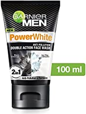 Garnier Men Power White Double Action Face Wash, 100gm