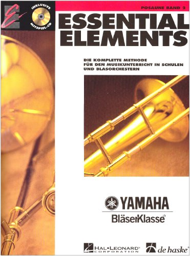 Essential Elements, für Posaune, Band 2, m. Audio-CD