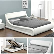 suchergebnis auf f r stauraumbett weiss 140x200 cm. Black Bedroom Furniture Sets. Home Design Ideas