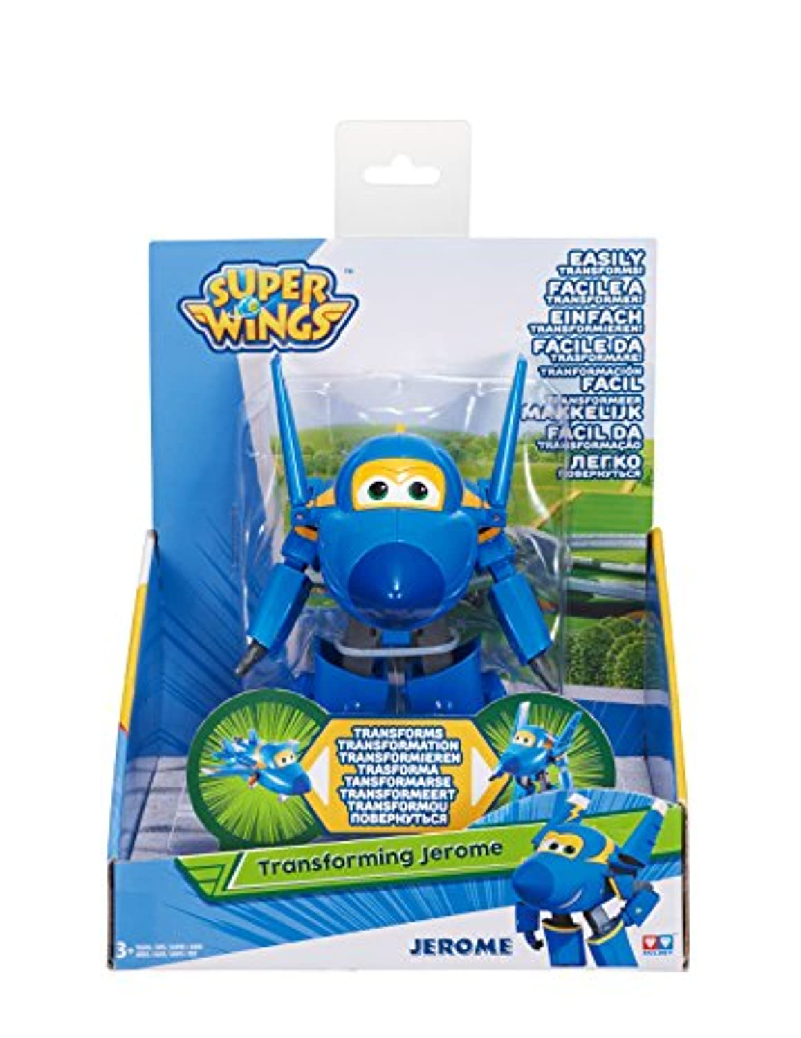 EU730824 1 figurine Zoey Camion Pompier Super Wings Transformable Rescue Riders Auldey