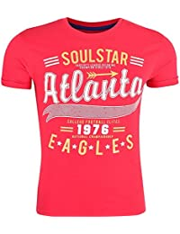 SoulStar - T-shirt - Col Rond - Manches Courtes - Homme
