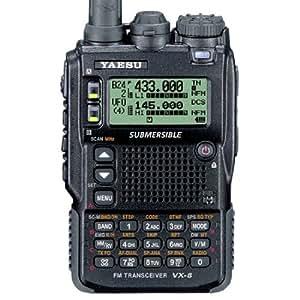 YAESU VX-8DR WALKIE TRI-BANDE 50/144/430 MHz VHF / UHF AVEC GPS ET APR